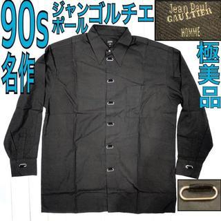 ジャンポールゴルチエ(Jean-Paul GAULTIER)の90s Jean Paul Gaultier HOMME ゴルチエ 名作シャツ(シャツ)