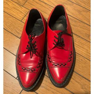 サンローラン(Saint Laurent)の美品  saint laurent   サンローラン  クリーパー 41 ブーツ(ドレス/ビジネス)