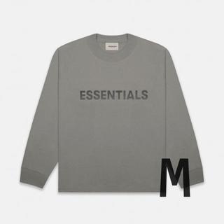 フィアオブゴッド(FEAR OF GOD)の2020SS新作 Essentials L/S T-Shirt Charcoal(Tシャツ/カットソー(七分/長袖))