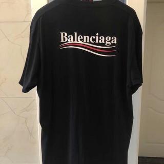 Balenciaga - balenciaga キャンペーンロゴtシャツ