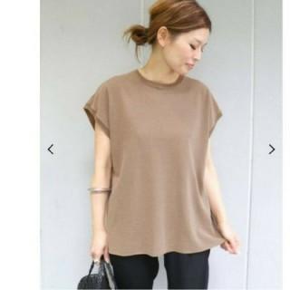 DEUXIEME CLASSE - ドゥーズィエムクラス Fine Tシャツ ブラウン