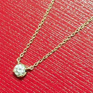 4℃ - 4°C ダイヤモンドネックレス ペンダント k18yg 40cm