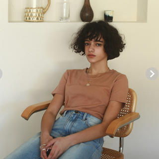 SeaRoomlynn - searoomlynnコットン2FACE Fit Tシャツ