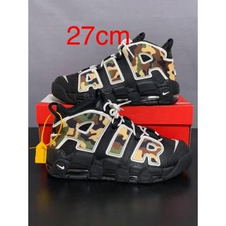 NIKE - 即日発送27cm モアテン カモ AIR MORE UPTEMPO