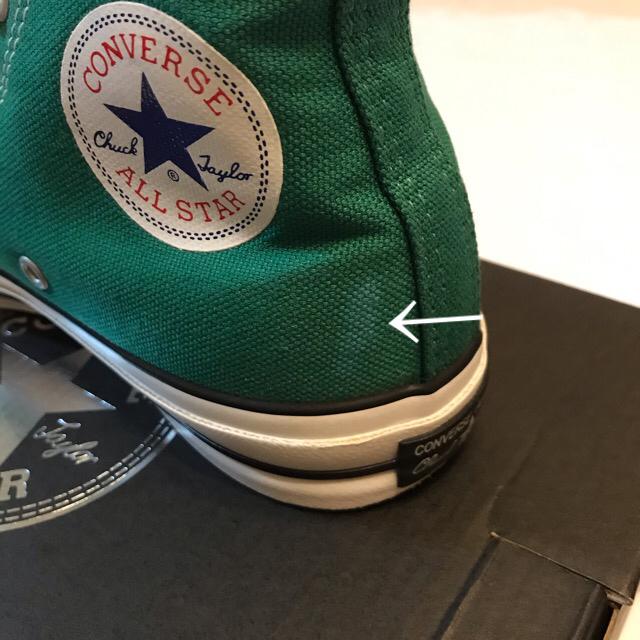 CONVERSE(コンバース)のSALE【中古】CONVERSE ALL STAR 100周年HI GR24.5 レディースの靴/シューズ(スニーカー)の商品写真