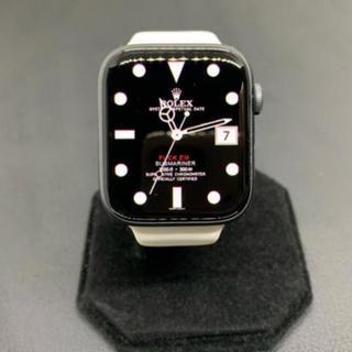 アップルウォッチ(Apple Watch)の【良品】Apple Watch Series 4 GPS 44mm 希少グレイ(腕時計(デジタル))