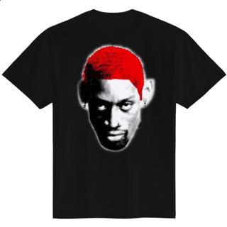 ロッドマンTシャツ NBA XLサイズ レッド×ブラック