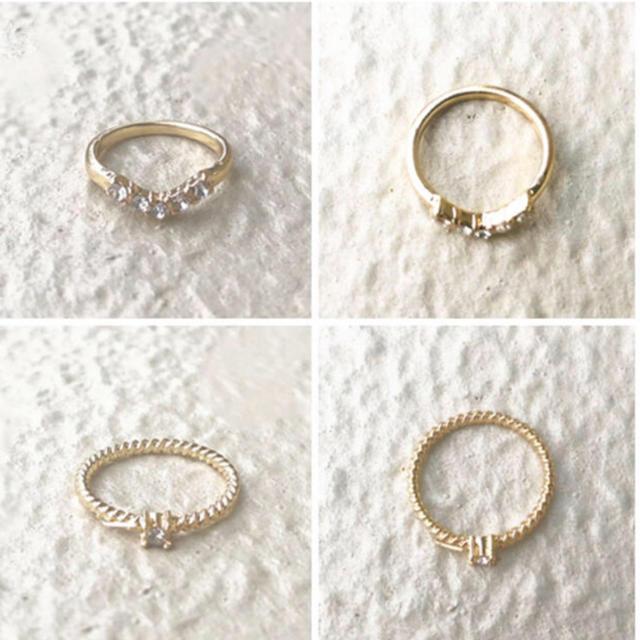 4℃(ヨンドシー)のpre-marry ring* 結婚準備リング(ピンキータイプ) レディースのアクセサリー(リング(指輪))の商品写真