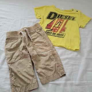 ディーゼル(DIESEL)のDIESEL Tシャツ babyGap パンツ(Tシャツ)