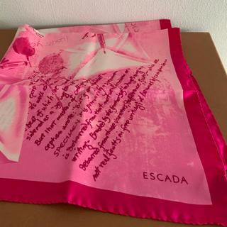 ESCADA - エスカーダ シルクスカーフ 新品