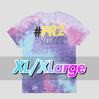 【XL】WIND AND SEA x FR2 PATCH T-SHIRT(Tシャツ/カットソー(半袖/袖なし))