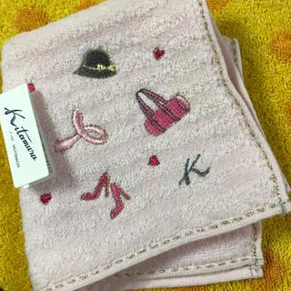 キタムラ(Kitamura)のキタムラ タオルハンカチpアイテム刺繍(ハンカチ)