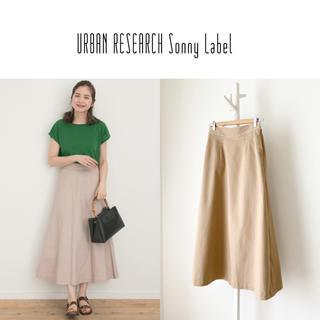 URBAN RESEARCH - 19SS UR Sonny Label チノフレアロングカラースカート