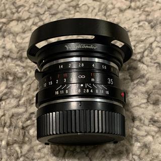 ライカ(LEICA)のフォクトレンダーnokton classic 35mm f1.4mc 週末値下げ(レンズ(単焦点))