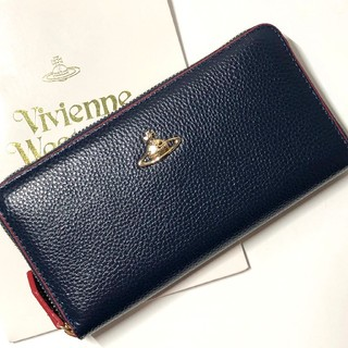 Vivienne Westwood - 正規品 Vivienne ヴィヴィアン ウエストウッド 新品 長財布 ブルー