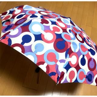 コーチ(COACH)の(9/2~10/3不在)♡コーチ♡折り畳み傘(傘)