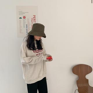 オオトロ(OHOTORO)のDaily cotton bucket hat(ハット)
