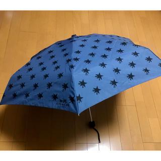 コーチ(COACH)の(9/2~10/3不在)⭐︎コーチ⭐︎ユニセックス 折り畳み傘(傘)