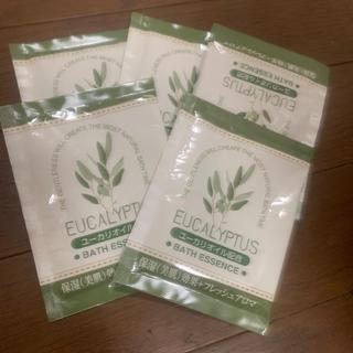 ユーカリオイル配合 入浴剤5袋(入浴剤/バスソルト)