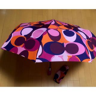 コーチ(COACH)の♡コーチ♡折り畳み傘(傘)