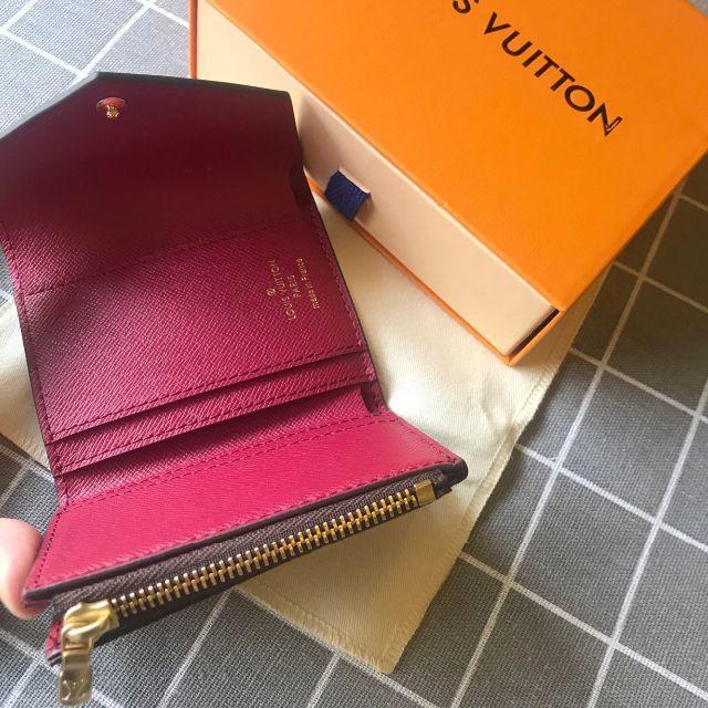 LOUIS VUITTON(ルイヴィトン)のルイヴィトン ポルトフォイユ・ゾエ 折り財布 レディースのファッション小物(財布)の商品写真