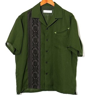 TOGA - 19SS TOGA VIRILISキューバシャツ  46