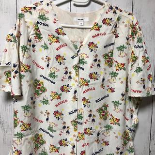 ニコアンド(niko and...)のニコアンドアロハシャツ(Tシャツ(半袖/袖なし))