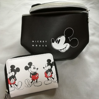 ミッキーマウス - ミッキーマウス 可愛く収納できる筒型ポーチ他 雑誌付録セット