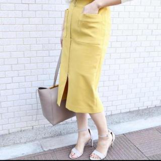 ノーブル(Noble)のNobleノーブル フープジップタイトスカート(ロングスカート)