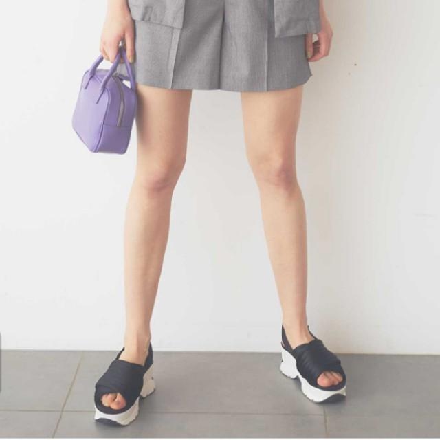 snidel(スナイデル)の新品 SNIDEL  スニーカーソールサンダル レディースの靴/シューズ(サンダル)の商品写真