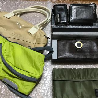 ディーゼル(DIESEL)の【即購入可能】バック&ブランド財布セット(財布)