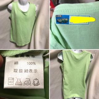 ニッセン(ニッセン)の★マーク2点500円‼️kids120size♡ニッセン 無地 タンクトップ(Tシャツ/カットソー)