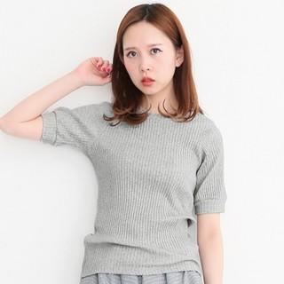 ケービーエフ(KBF)のKBF リブクルーTEE(Tシャツ(半袖/袖なし))