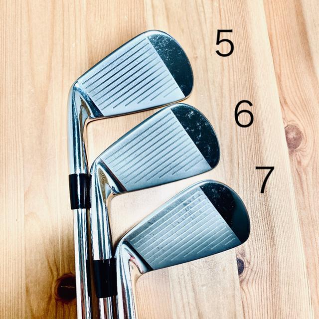 MIZUNO(ミズノ)の【値下げ】MP54 アイアン #5〜#P 6本 DG S200 スポーツ/アウトドアのゴルフ(クラブ)の商品写真
