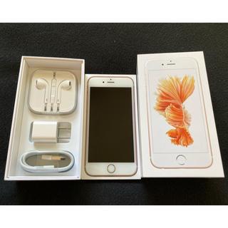 Apple - iPhone 6s Rose Gold 16GB 本体