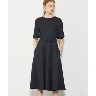 エポカ(EPOCA)の美品 38サイズ EPOCA エポカ 69300円 ハイツイストクロス ドレス(ロングワンピース/マキシワンピース)