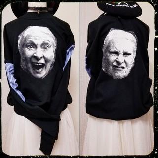 Vivienne Westwood - 新品・Worlds end限定・Face print Sweatshirt