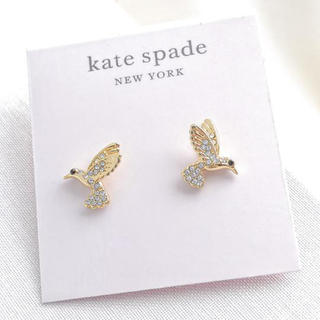 kate spade new york - 【新品¨̮♡︎】ケイトスペード ハミングバード ピアス