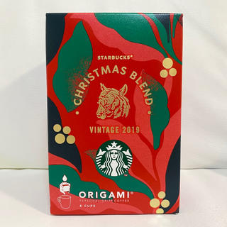 Starbucks Coffee - スターバックス オリガミ®️ クリスマスブレンド2019