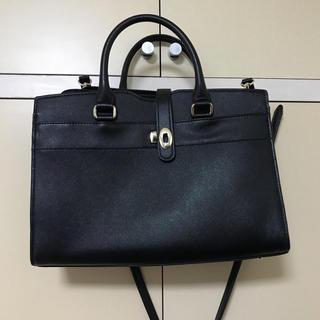 スーツカンパニー(THE SUIT COMPANY)の黒 ビジネスバッグ リクルートバッグ 就活 A4(トートバッグ)