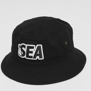 Supreme - WIND AND SEA FR2 Patch Bucket Hat BLACK