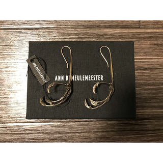 アンドゥムルメステール(Ann Demeulemeester)の新品 ANN DEMEULEMEESTER crow ピアス リング イヤリング(ピアス(両耳用))