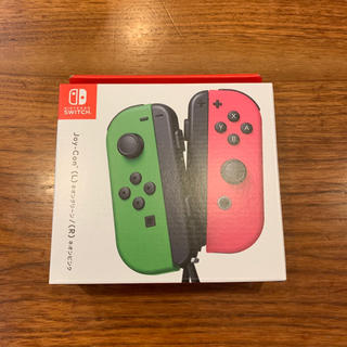 Nintendo Switch - 【新品】switch Joy-Con (L)ネオングリーン/(R)ネオンピンク