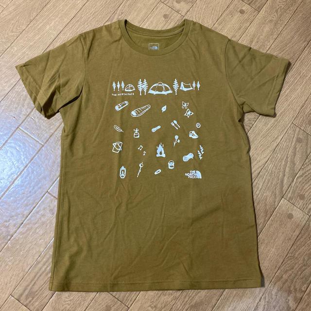 THE NORTH FACE(ザノースフェイス)の(mari★さん専用)ノースフェイス Tシャツ レディース Lサイズ レディースのトップス(Tシャツ(半袖/袖なし))の商品写真