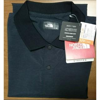 ザノースフェイス(THE NORTH FACE)の新品 ノースフェイス ウーブンテック ポロシャツ Mサイズ(ポロシャツ)