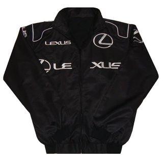 【送料無料】LEXUS レクサス 春秋ジャケット・ブルゾン 黒 XXLサイズ(ブルゾン)