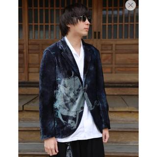 Yohji Yamamoto - ヨウジヤマモト ベルベットジャケット
