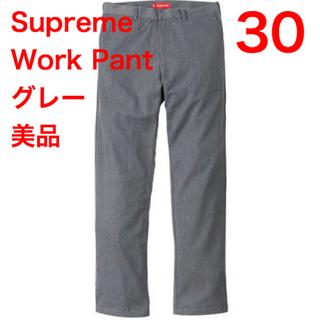 シュプリーム(Supreme)の【hita様専用】美品 Supreme Work Pant 30 グレー 半タグ(チノパン)