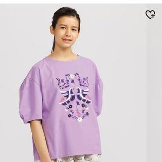 アナスイ(ANNA SUI)の新品・未使用 ユニクロとアナスイのコラボTシャツ XL(Tシャツ(半袖/袖なし))
