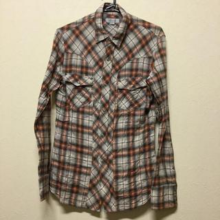 メンズティノラス(MEN'S TENORAS)のMEN'S TENORAS  シワ加工チェックシャツ Mサイズ(シャツ)
